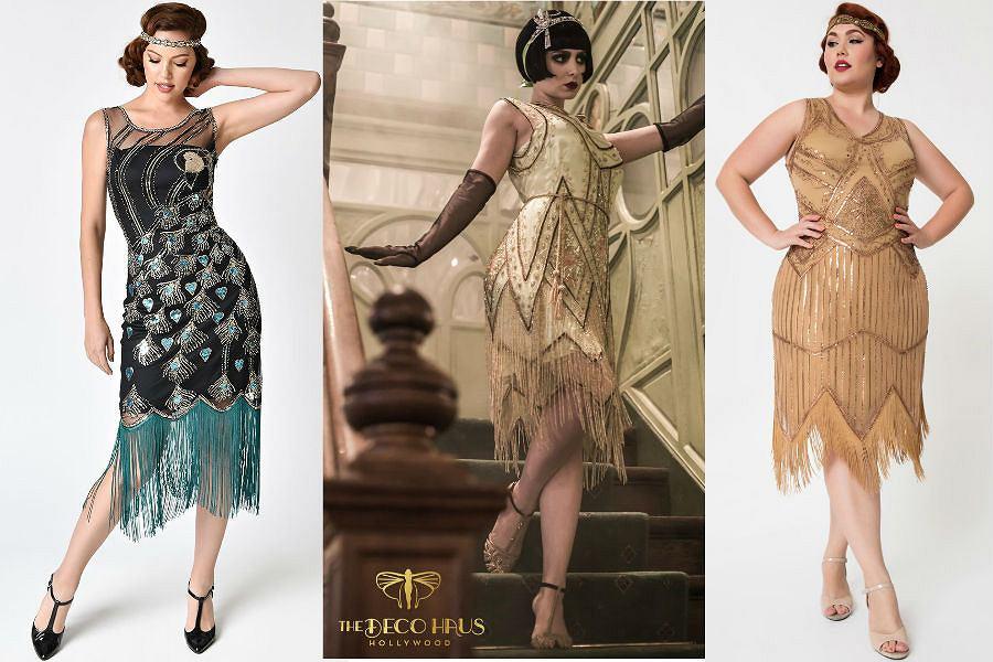 Sukienki z frędzlami są bardzo efektowne i pasują kobietom o różnych sylwetkach