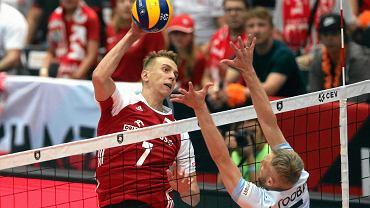 Artur Szalpuk w meczu Polski z Estonią