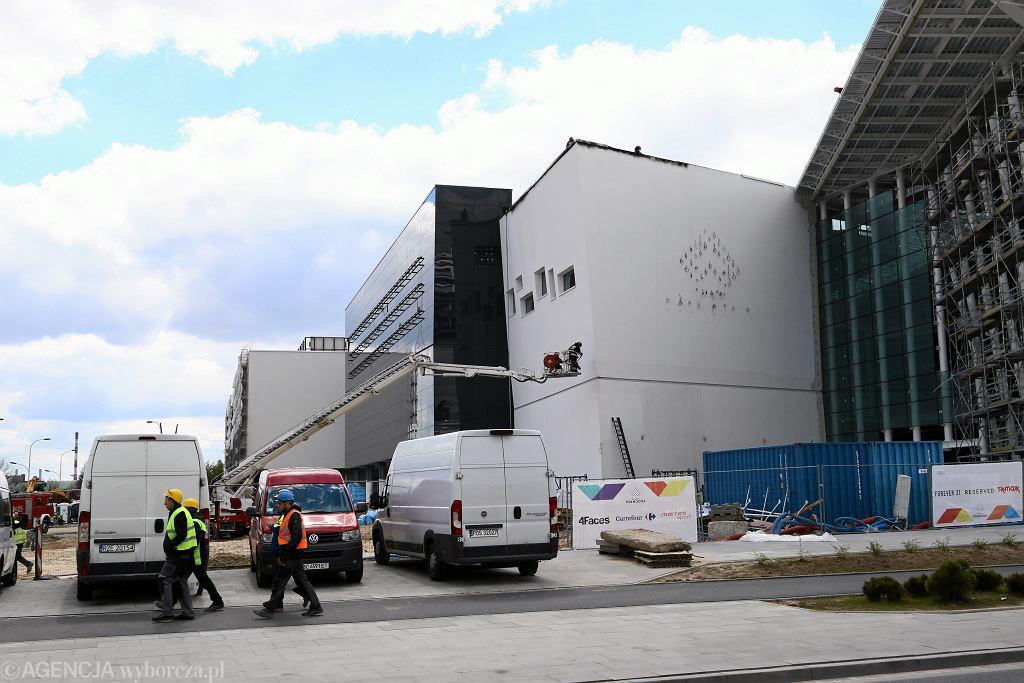 Galeria Północna - w maju doszło tam do pożaru na dachu budynku