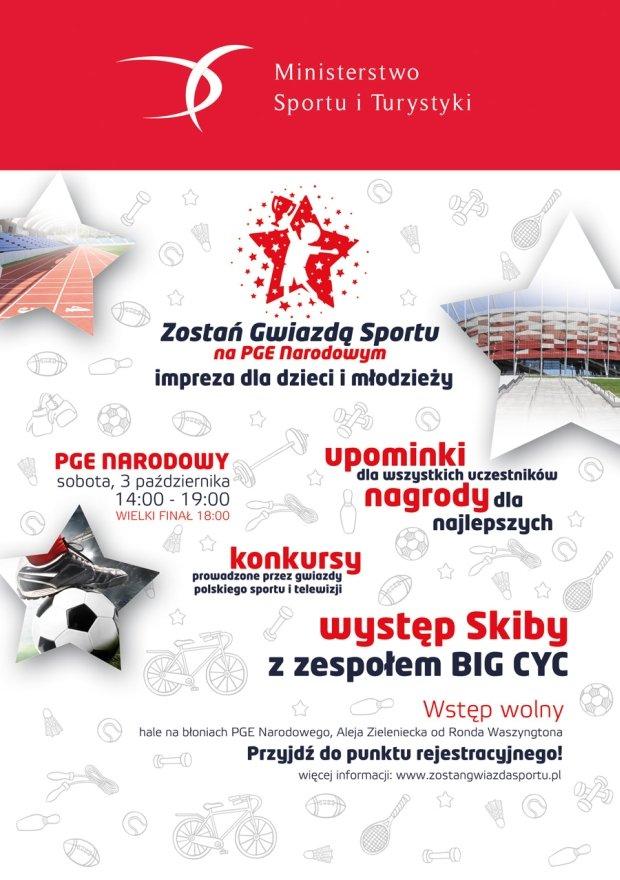 Zostań Gwiazdą Sportu na PGE Narodowym
