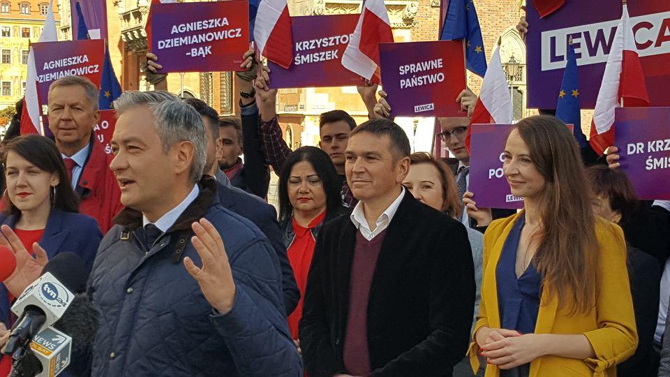 Robert Biedroń, Arkadiusz Sikora, Agnieszka Dziemianowicz-Bąk