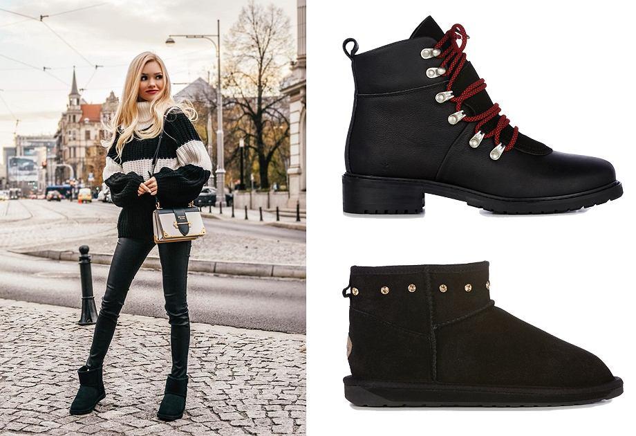 W nowej kolekcji Emu Australia znalazły się ciepłe buty w czarnym kolorze