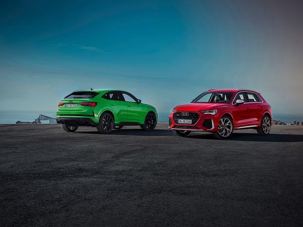 Kompaktowe SUV-y o sportowym charakterze - Audi RS Q3 i RS Q3 Sportback