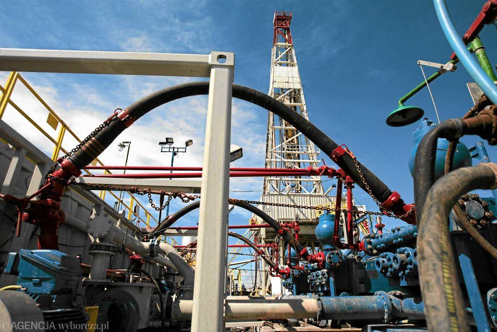 Poszukiwania gazu łupkowego na wiertni Uścimów przez Orlen Upstream