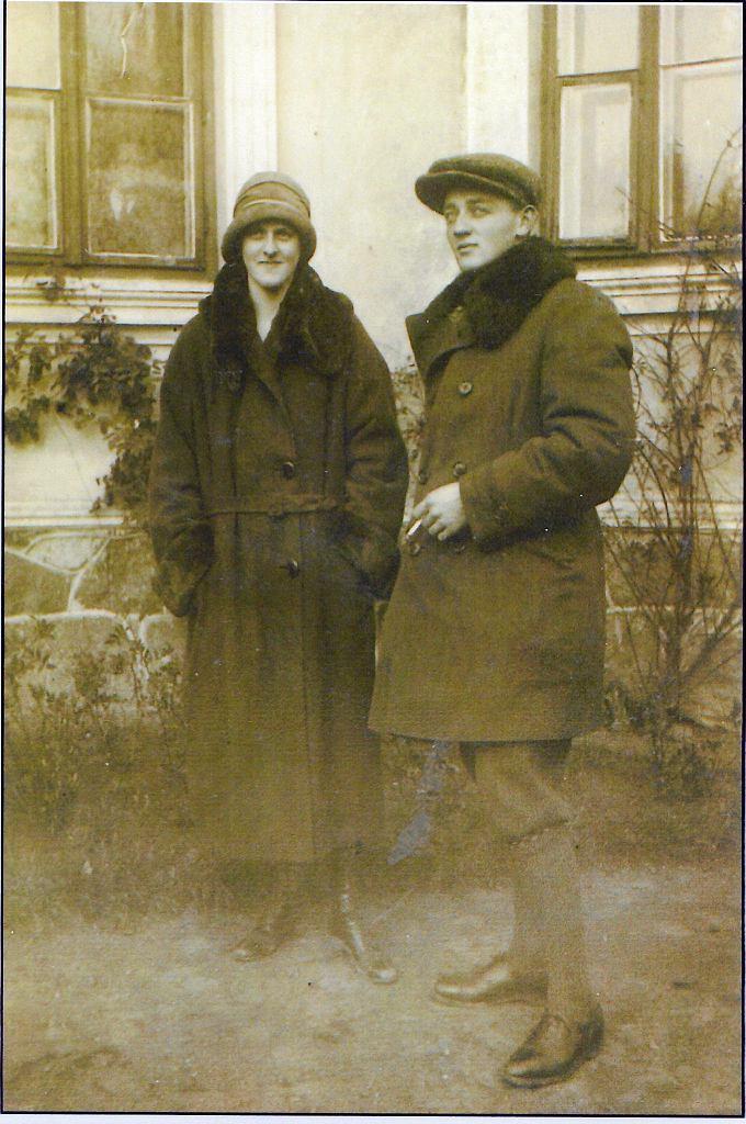 Zofia z mężem Kazimierzem Glińskim
