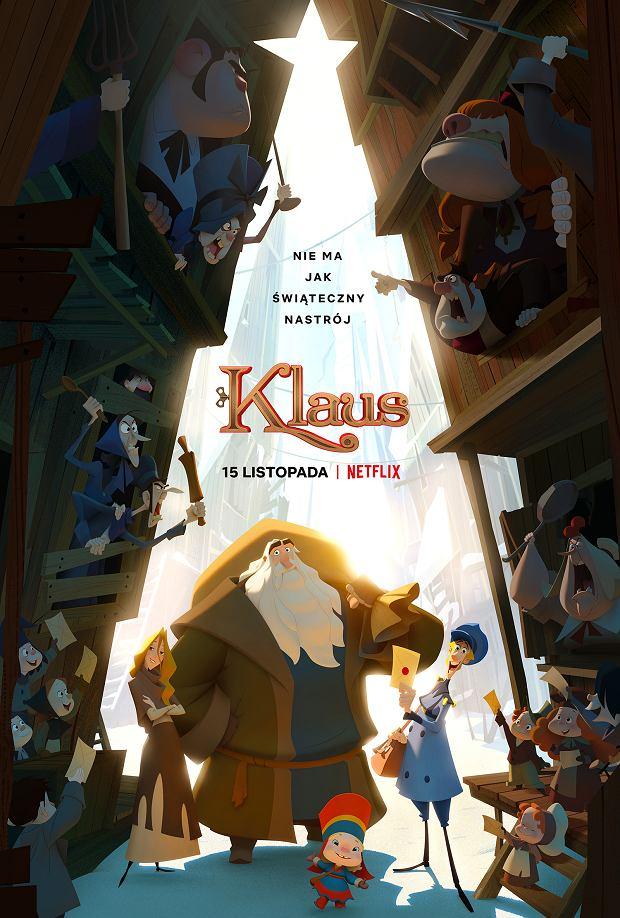 Klaus. Pierwszy film animowany Netflixa, będzie mieć premierę 15 listopada