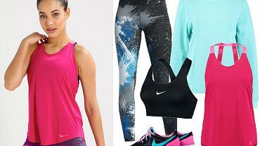 Kolaż / Ubrania sportowe Nike / Materiały partnera