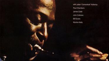 "Fragment okładki płyty ""Kind of Blue"" Miles Davisa"