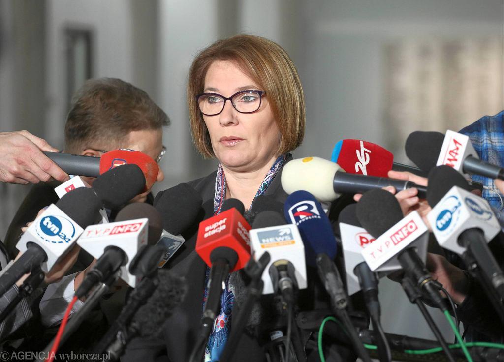 Wicemarszałek Sejmu, rzeczniczka PiS, Beata Mazurek