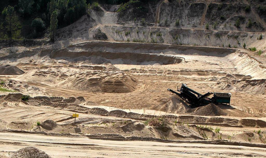 Kopalnia piasku - zdjęcie ilustracyjne