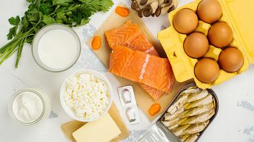Kalcytriol znajduje się w produktach bogatych w witaminę D