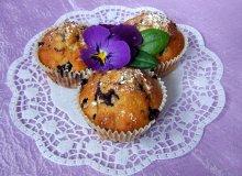 Muffinki jagodowo-kokosowe - ugotuj