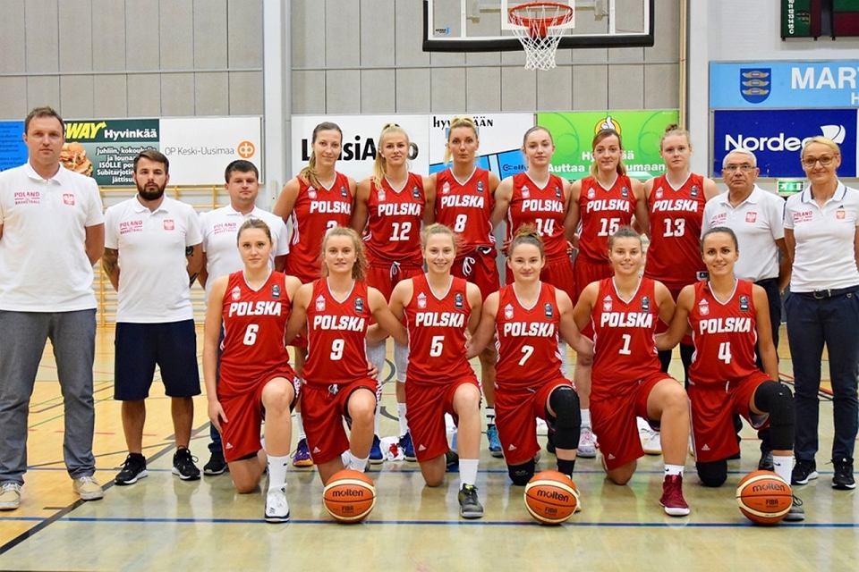 Reprezentacja Polski koszykarek na 29. Letnią Uniwersjadę w Tajpej