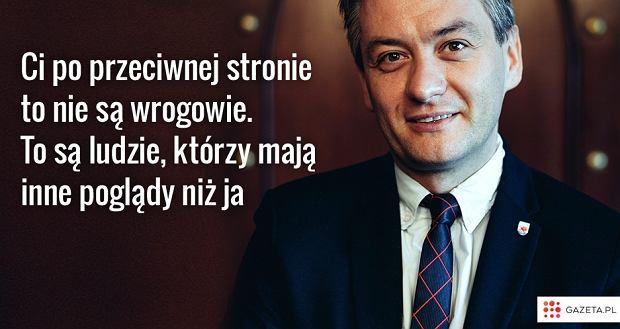 Robert Biedroń o politykach z przeciwnego obozu