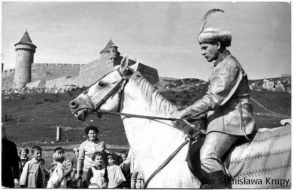 Chęciny 1968 rok, Tadeusz Łomnicki jako Michał Wołodyjowski'