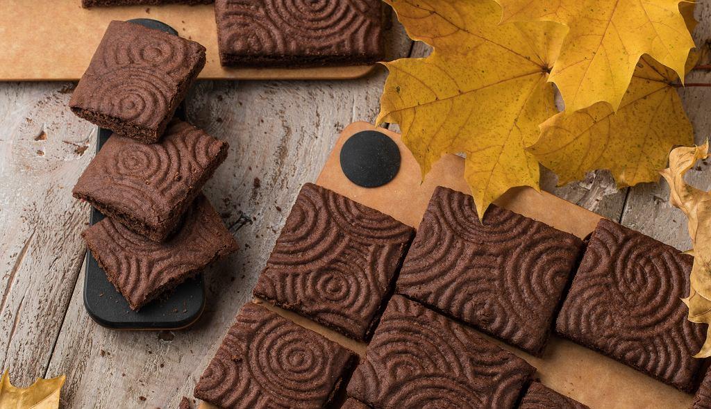 czekoladowe shortbready
