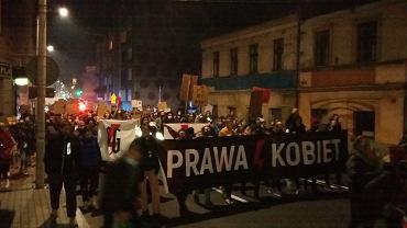 Piątkowy strajk kobiet w Bielsku-Białej