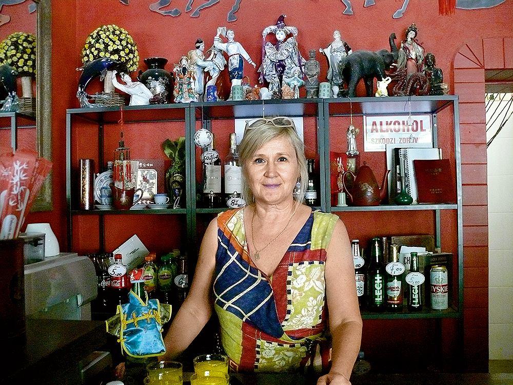 Hanna Gawryszewska, nowa właścicielka Chińczyka