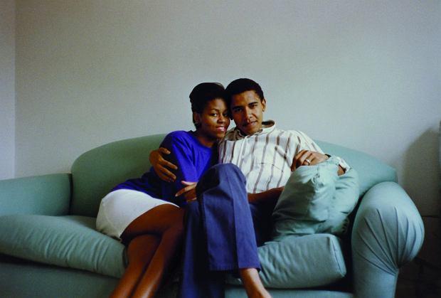 Michelle i Barack jako młode małżeństwo