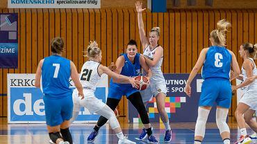 Wrzesień 2021 r. Gorzowskie koszykarki wygrały jeden z trzech meczów na turnieju w Czechach