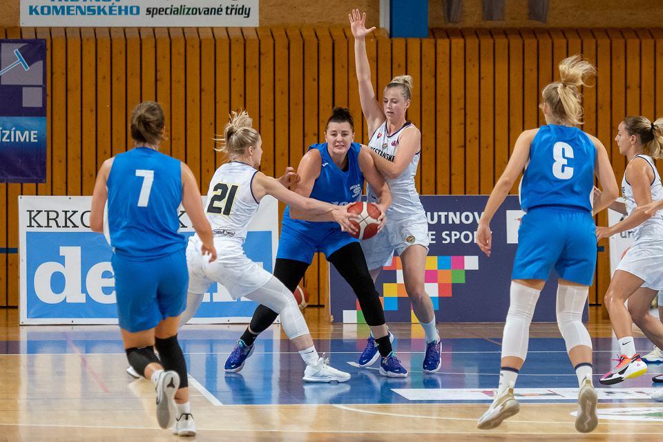 Zdjęcie numer 1 w galerii - Gorzowskie koszykarki wygrały jeden z trzech meczów na turnieju w Czechach