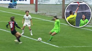 Kuriozalna czerwona kartka w kobiecej Serie A