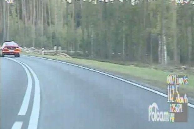 Mknął mustangiem 150 km/h