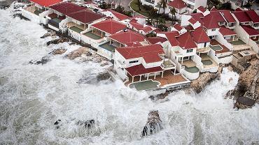 Huragan Irma i jego skutki na wyspie Saint Martin