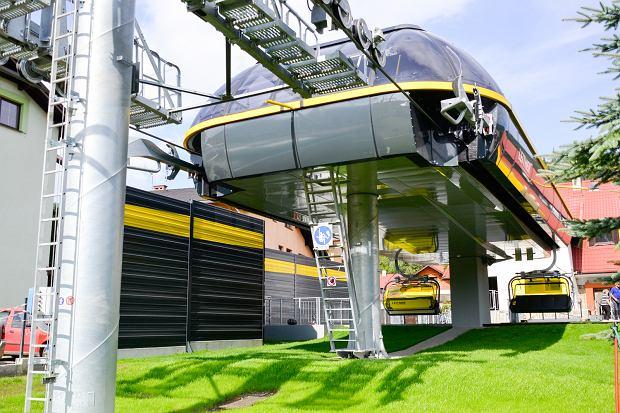 Zdjęcie numer 6 w galerii - Zmodernizowana kolejka na Skrzyczne już wozi pasażerów (ZDJĘCIA)