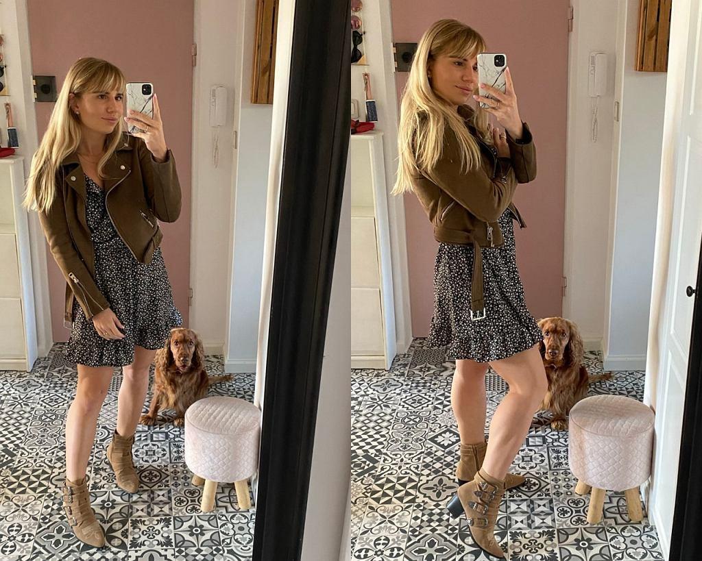 Ramoneska i sukienka mini