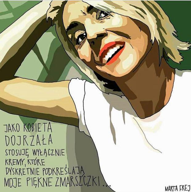 Zdjęcie numer 71 w galerii - Marta Frej rysuje dla