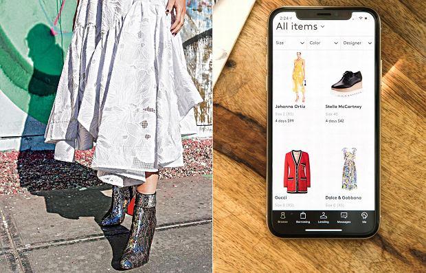 8f1685b2e3 modne spódnice. Lane Florsheim. Ekonomia współdzielenia zagląda do szaf z  ubraniami