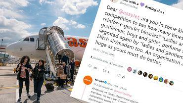 EasyJet zmieni powitanie, aby nie wykluczać pasażerów