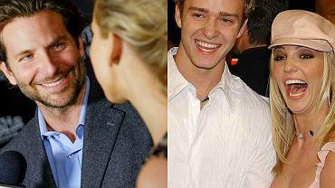 Bradley Cooper, Jennifer Lawrence, Justin Timberlake, Britney Spears