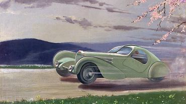 Bugatti Type 57S Competition Coupe Aerolithe