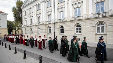 Inauguracja roku akademickiego na Uniwersytecie Warszawskim