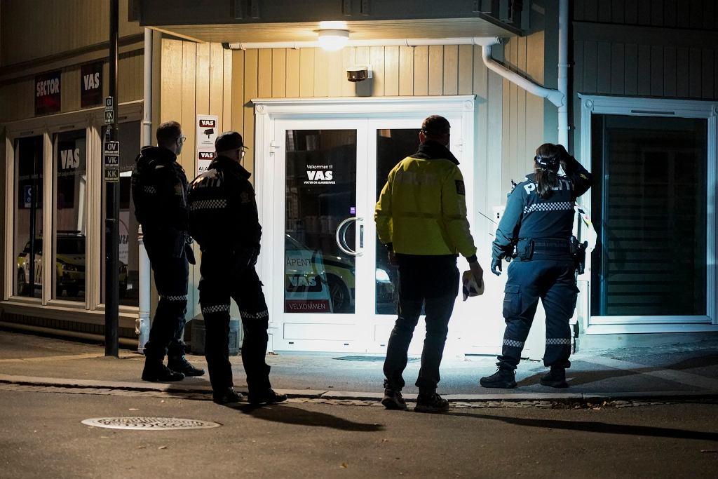 Co najmniej pięć osób zginęło w ataku w norweskim mieście Kongsberg. Napastnik strzelał tam do ludzi z łuku / fot.