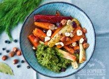 Pieczone warzywa z pesto koperkowym - ugotuj