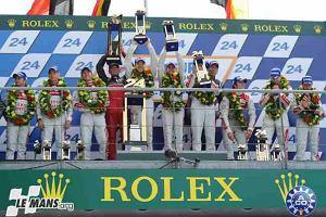 24H Le Mans   Historyczny triumf hybrydy Audi