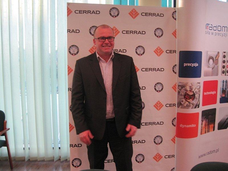 Mariusz Szyszko, prezes Cerrad Czarni Radom