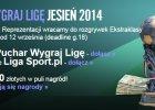 Wygraj Ligę. Od 8. kolejki rusza Puchar Wygraj Ligę (pula nagród 2350 zł) oraz klasyfikacja września (do wygrania 200 zł)