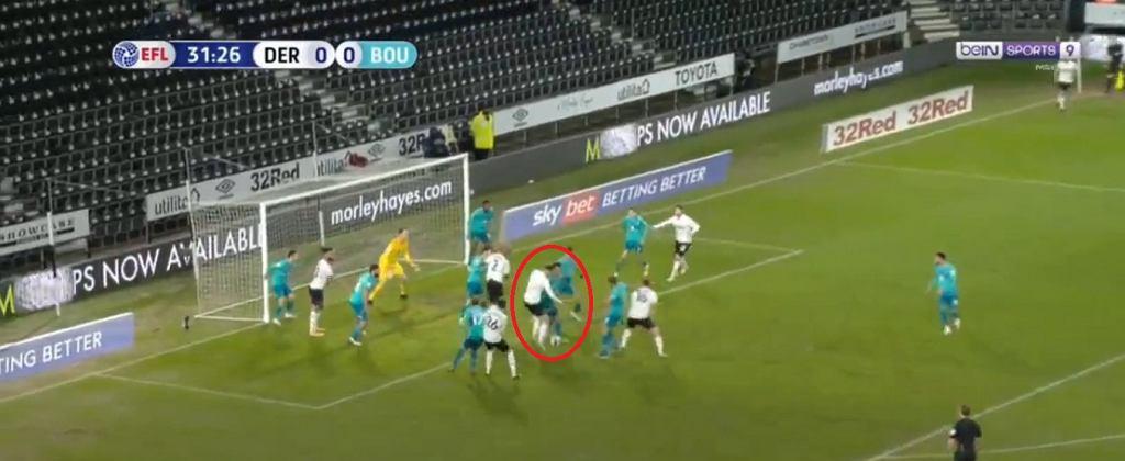 Bielik strzelił gola w meczu Derby County z Bournemouth