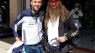 Robert Kubica i William Storey