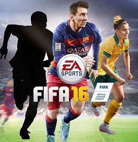 FIFA 16 - okładka
