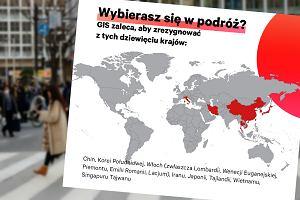 Koronawirus w Europie. Jest nowe ostrzeżenie dla podróżnych. GIS odradza wyjazdy do dziewięciu krajów