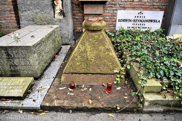 Zdjęcie numer 7 w galerii - Wszystkich Świętych. Tu spoczywa Władysław Reymont i Wojciech Młynarski. Groby w Alei Zasłużonych na Starych Powązkach [ZDJĘCIA]