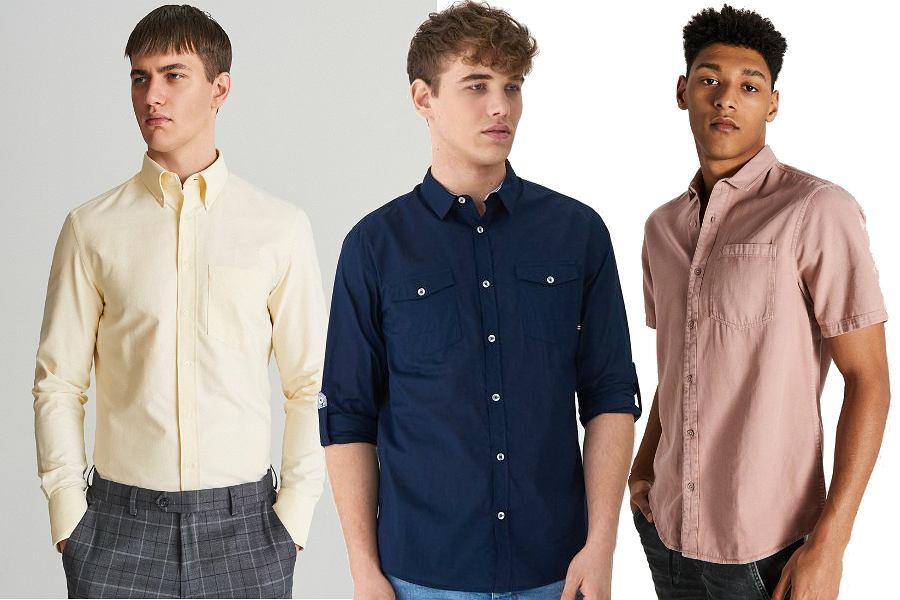 Eleganckie koszule męskie na wiosnę