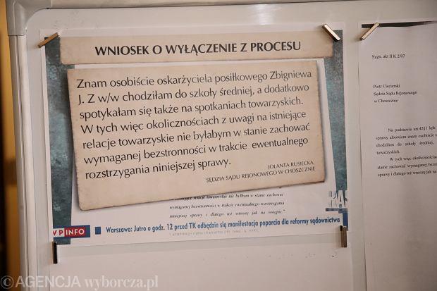 Konferencja Prezesa Sądu Okręgowego w Szczecinie