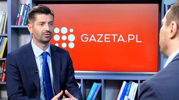 Krzysztof Śmiszek w rozmowie Gazeta.pl