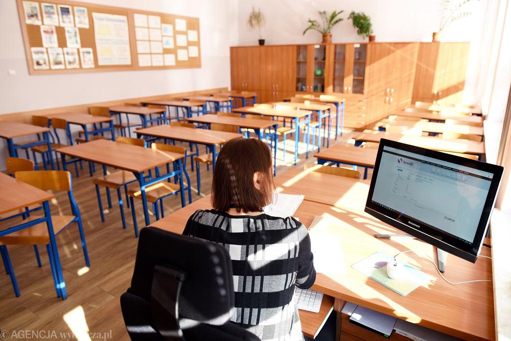 Lekcje online w olsztyńskiej szkole. 16 marca 2020